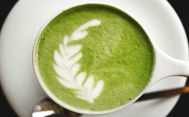 wasabi latte