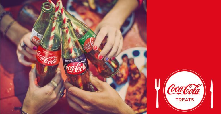 Coca-Cola Treats by e-table