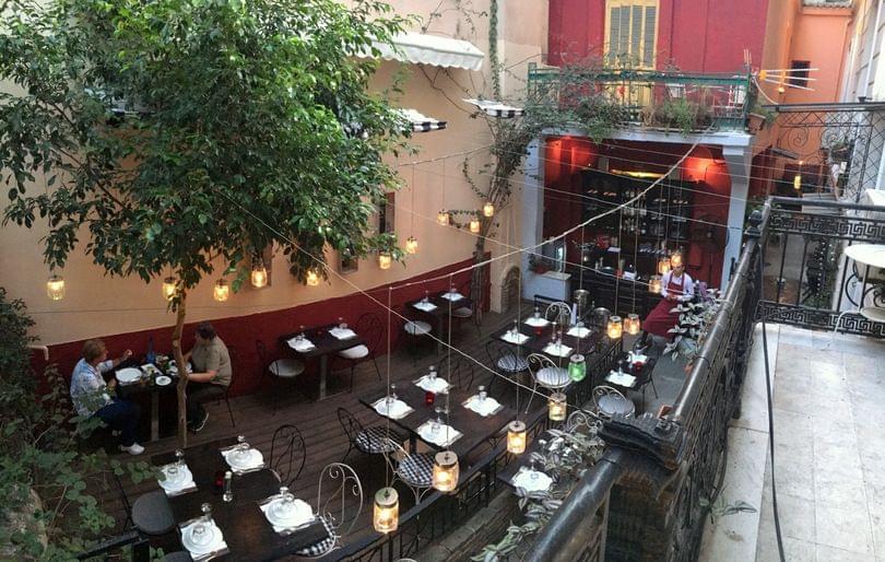 wine bar στο κέντρο της Αθήνας
